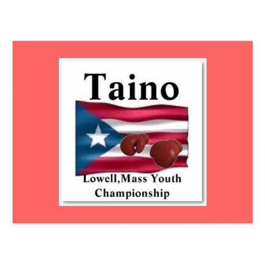 Taino, Gold Squad Boxing Postcard
