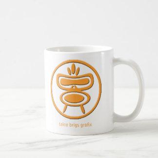 Taino Mug Orange