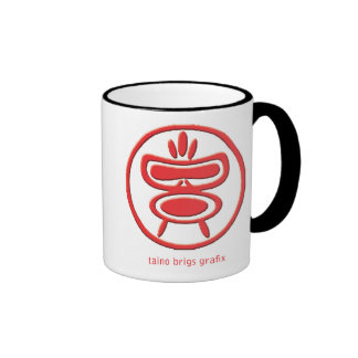 Taino Mug Red