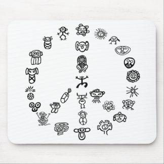 Taino Peace Mouse Pad