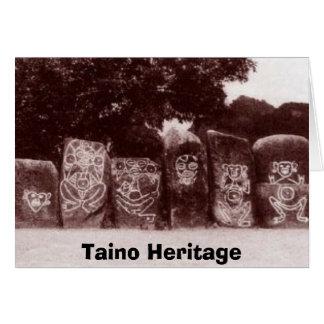 Taino petro, Herencia Taina Greeting Cards