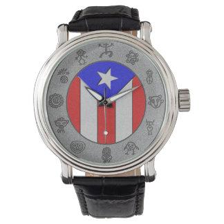 Taino Wheel Wrist Watch