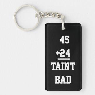 Taint Bad Keychain