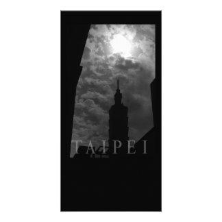 Taipei 101 Building, Taipei, Taiwan Custom Photo Card