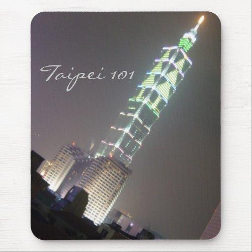 Taipei 101 mouse pad
