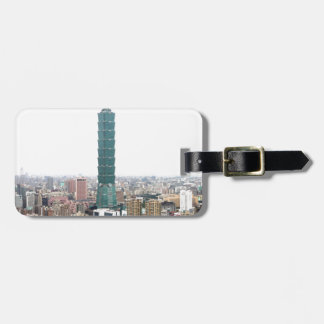 Taipei amk 101 proud of yourselves travel bag tag