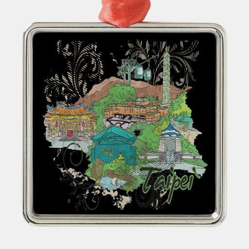 Taipei Christmas Tree Ornament