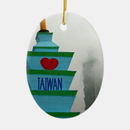 Taipei Lantern Festival 2012, Taiwan Ceramic Ornament