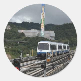 Taipei Metro at Taipei Zoo station Stickers