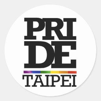 TAIPEI PRIDE -.png Classic Round Sticker