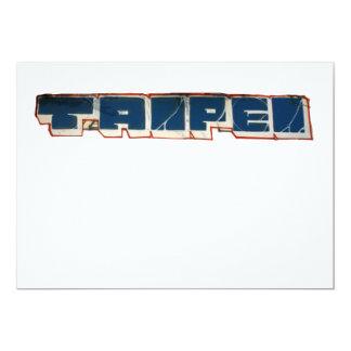Taipei Taiwan Card