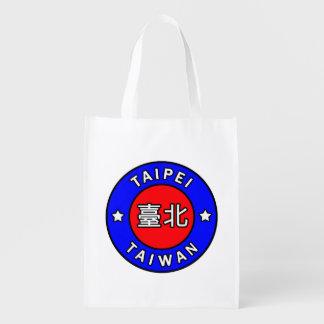 Taipei Taiwan Grocery Bag