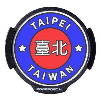 Taipei Taiwan LED Car Decal