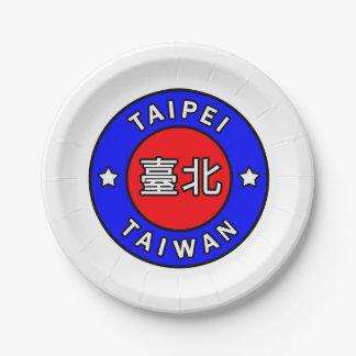 Taipei Taiwan Paper Plate