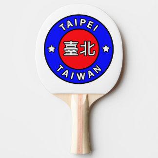 Taipei Taiwan Ping-Pong Paddle