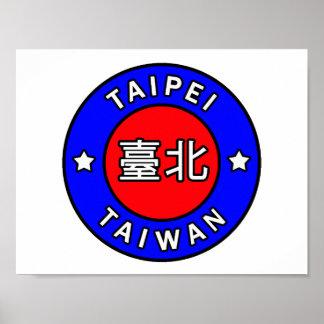 Taipei Taiwan Poster