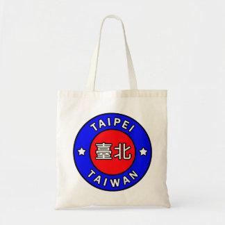 Taipei Taiwan tote bag