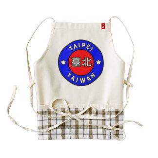 Taipei Taiwan Zazzle HEART Apron