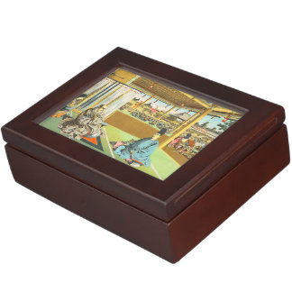 Taira No Shigemori japanese shogun historical art Keepsake Box