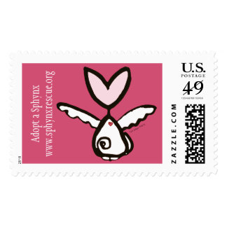 Tai's Angel Sphynx Postage Stamps