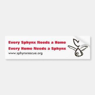 Tai's Sphynx Angel SOAR Bumper Sticker