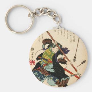 Taiso - Ronin fending off arrows Keychain