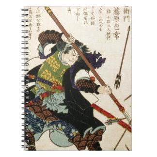 Taiso - Ronin fending off arrows Notebook