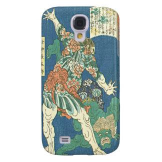 Taiso, Tattooed Hercules Japanese Woodblock Print  Galaxy S4 Case