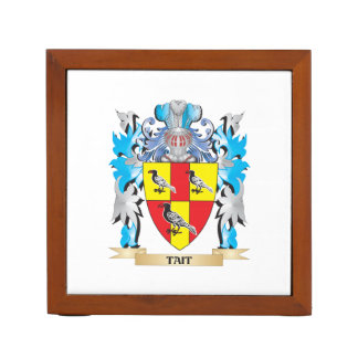 Tait Coat of Arms - Family Crest Pencil Holder