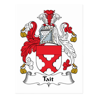 Tait Family Crest Post Cards