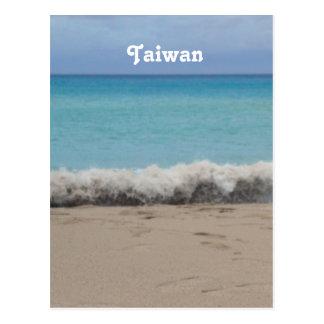 Taiwan Beach Postcard