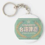 Taiwan Beer Keychain