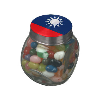 Taiwan Jelly Belly Candy Jars