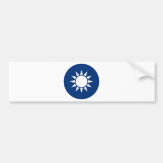 Taiwan Coat of Arms Bumper Sticker