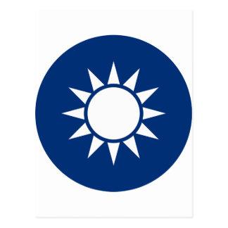 Taiwan Coat of Arms Postcard