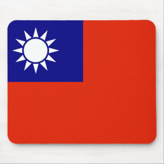 taiwan country flag china province symbol mouse pad