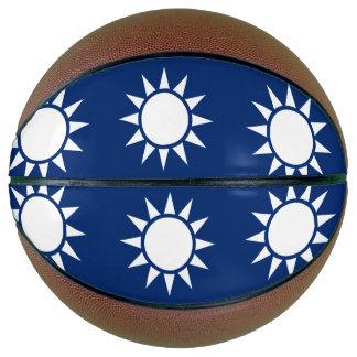 Taiwan Flag Basketball