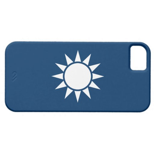 """Taiwan Flag """"Classic"""" iPhone 5 Cover"""