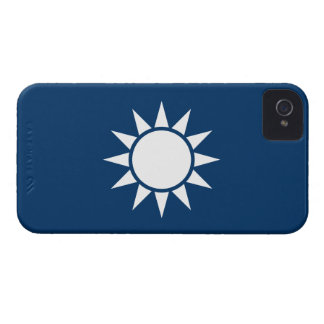 """Taiwan Flag """"Classic"""" iPhone 4 Cover"""