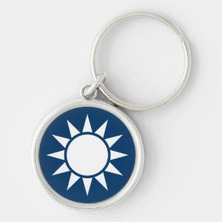 "Taiwan Flag ""Classic"" Keychain"