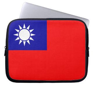 Taiwan Flag Computer Sleeve