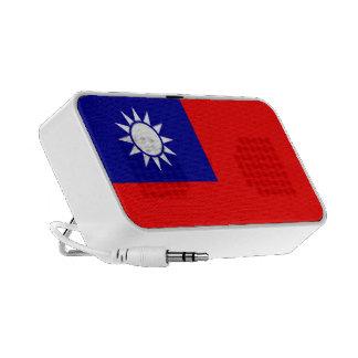 Taiwan Flag Doodle Notebook Speakers
