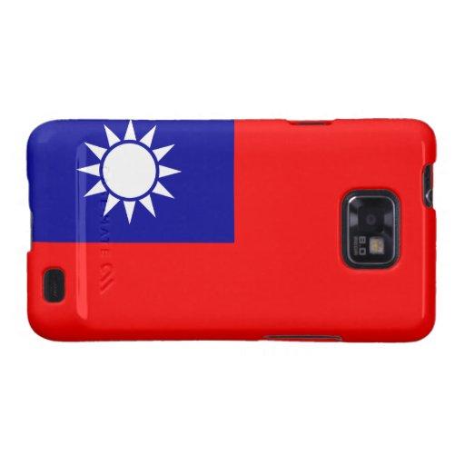 Taiwan Flag Galaxy S2 Case