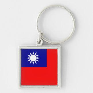 Taiwan Flag Keychain