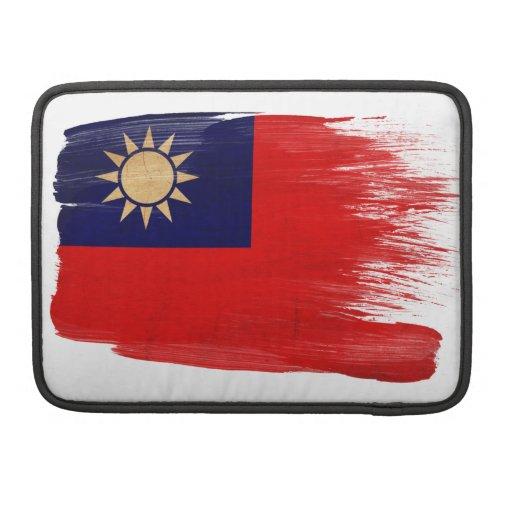 Taiwan Flag MacBook Pro Sleeve