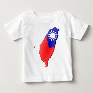 Taiwan Flag Map Infant T-shirt