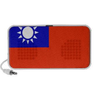 Taiwan Flag Notebook Speaker