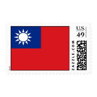 Taiwan Flag Postage