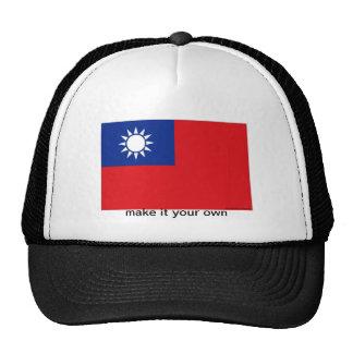 Taiwan flag souvenir hat