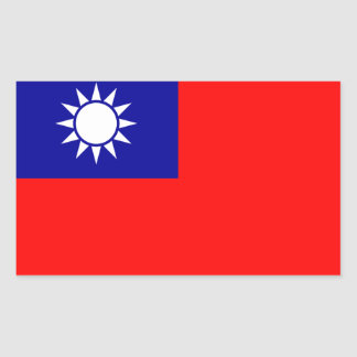 TAIWAN* Flag Sticker
